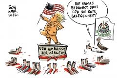 Tote bei Unruhen im Gaza-Streifen: Berlin wirft Hamas Anstachelung zur Gewalt vor