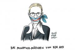 """Gezielter Eklat nach """"Kopftuchmädchen""""-Spruch: Schäuble spricht Machtwort gegen Weidel"""