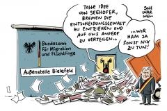 Seehofer-Anordnung in BAMF-Affäre: Bremer Außenstelle darf keine Asylentscheidungen mehr treffen