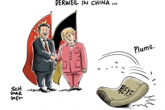 Merkel in China: Mehr Wirschaft ja, mehr Menschenrechte nein