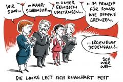 Parteitag: Linke streitet über Wagenknechts Position zur Flüchtlingspolitik