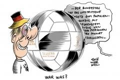 Kritik der Unmenschlichkeit von Linken und Grünen: Bundestag verabschiedet umstrittenes Gesetz zum Familiennachzug, WM, Fußball-Weltmeisterschaft