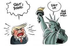 Trump und der Shutdown: Strategie der Lähmung