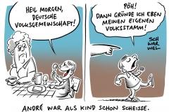 """Nach Eklat über """"deutsche Volksgemeinschaft"""": André Poggenburg verlässt AfD und gründet neue Partei AdP"""