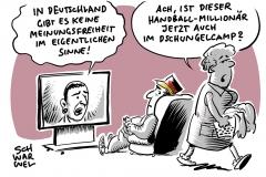 Äußerungen zur Meinungsfreiheit: Handball-Punk Kretzschmar in der Kritik