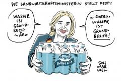 Landwirtschaftsministerin und Lobbyistin: Kritik an Klöckner wegen Nestlé-Videos