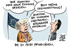 EU-Postenvergabe: Keine Einigung, Macron spricht von Versagen, Migrationspolitik der EU: Nichts ist geklärt