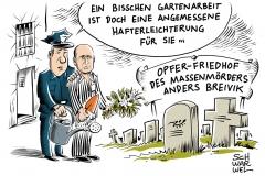 karikatur-schwarwel-breivik-haft-isolationshaft-massenmörder