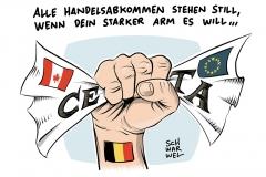 karikatur-schwarwel-ceta-freihandelsabkommen-belgien-wallonien-us-canada