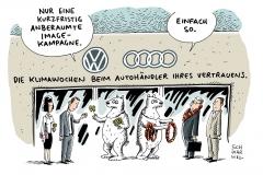 schwarwel-karikatur-vw-volkswagen-audi-imagekampagne-abgasaffäre