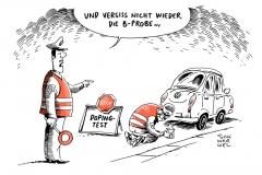 karikatur-schwarwel-doping-test-auto