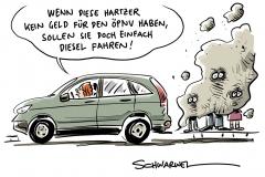 ÖPNV – Sozialinitiativen begrüßen Vorstoß der Bundesregierung: Nulltarif ist gut, Verkehrswende ist besser