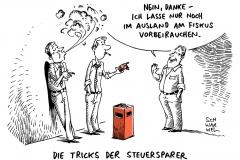 schwarwel-karikatur-rauchersteuer-fiskus-raucher-steuer