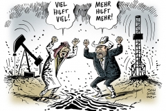 schwarwel-karikatur-oelfelder-opec-arabien-usa