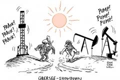 schwarwel-karikatur-showdown-opec-oelfoerderung-usa-fracking