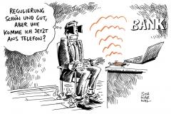 schwarwel-karikatur-bank-boerse-regulierung-bankenregulierung
