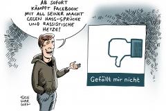 schwarwel-karikatur-dislike-facebook-hass-hetzte-rassismus