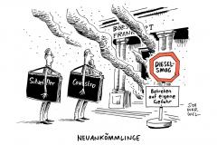 schwarwel-karikatur-neuboersianer-boerse-aktie-kurs-vw