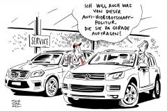 karikatur-schwarel-daimler-volkswagen-vw-mercedes