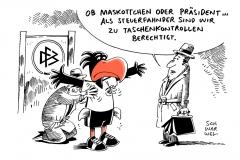 schwarwel-karikatur-fussball-steuerfahndung-betrug-dfb-zentrale