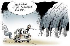 schwarwel-karikatur-china-vw-kohlendioxid-abgasskandal