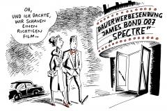 karikatur-schwarel-film-bond-007-werbung-productplacement