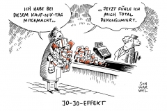 karikatur-schwarwel-kaufnix-tag-konsum