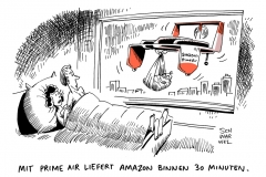 karikatur-schwarwel-amazon-prime-air-online-handel-internet-verkauf