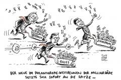 karikatur-schwarwel-zuckerberg-gates-wettrennen-philantropie
