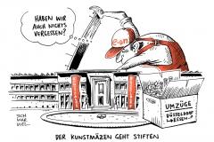karikatur-schwarwel-eon-energie-energiekonzern-kunstpalast
