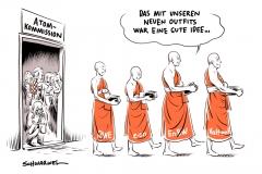 karikatur-schwarwel-atom-atommüll-rwe-eon-enbw-vattenfall