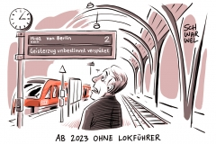karikatur-schwarwel-lokfuehrer-vollautomatische-züge-deutschebahn-db