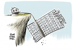 karikatur-schwarwel-bankenkrise-bank-italien