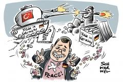 Angriffe der Türkei auf syrische Kurden: Deutsche Waffen gegen deutsche Panzer?