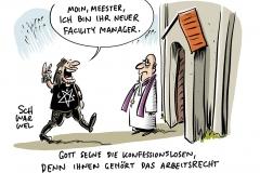 EuGH-Urteil zum Arbeitsrecht: Kirchen als größte Arbeitgeber müssen auch Konfessionslose einstellen