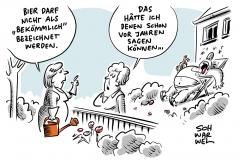 """Urteil im Bierstreit am BGH: Bier ist nicht """"bekömmlich"""""""