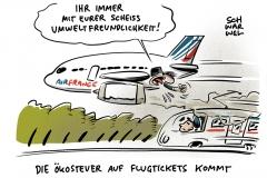 Klimaschutz: Frankreich führt Ökosteuer auf Flugtickets ein